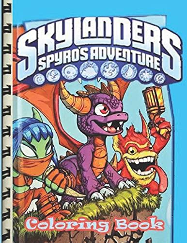 Skylanders Spyro's Adventure: Ultimate Coloring Book (Skylanders Sypro's Adventure)