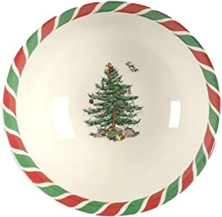 Spode Christmas Tree Candy Cane Candy Bowl