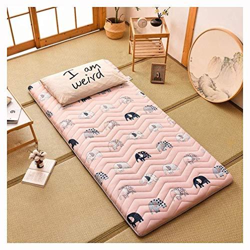 Tatami Schlafmattenmatratze Faltbare Futon Tatami Soft Mat Schlafmatratze Rollmatratze Für Japanische Studenten Wohnheimmatratzen,A-80 * 190cm