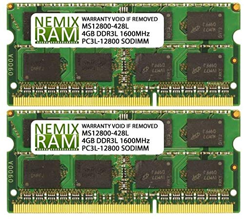 8GB 2X4GB NEMIX RAM Memory for Apple MacBook Pro 2012 - Late 2016 Non-Retina