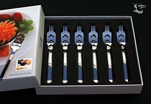 Dessert Fork Gift Package 6pcs. UFO