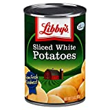 Libby's Sliced White Potatoes | Delicious Mildly Sweet Flavor and Pleasant White Color | Non-GMO | 15 ounce can (Pack of 12)