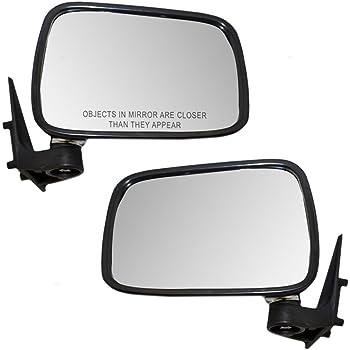 Kool Vue Manual Mirror For 86-87 Mazda B2000 87-93 B2600 Driver Side Kool-Vue MA14CL