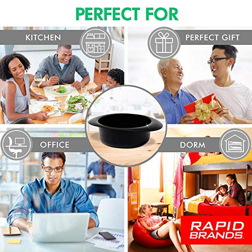 Product Image 5: Rapid Oatmeal Cooker   Microwave Instant or Old-Fashioned Oats in 2 Minutes   Perfect for Dorm, Small Kitchen, or Office   Dishwasher-Safe, Microwaveable, & BPA-Free
