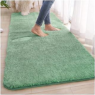 TEOV Badmatta grön 80 x 120 cm, badmattor halkfria & tvättbara badrumsmattor, mattor absorberande mjuk med hög hydroskopic...
