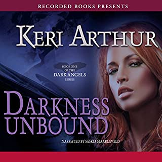 Darkness Unbound audiobook cover art