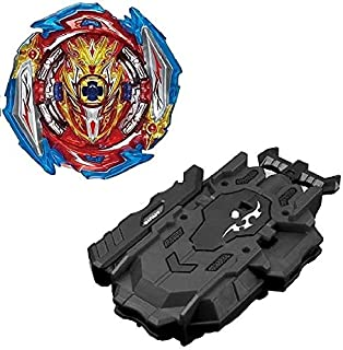 Beyblade Burst B-173 super king with B-88 bey launcher lr two-way string launcher