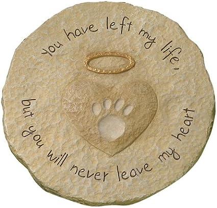 Engraved Pet Memorial 11 D  /'Love Never Leaves/'