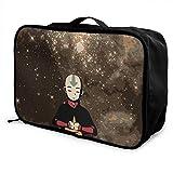 Anime Avatar The Last Airbender Travel Storage Box Maleta de equipaje Trolley Cosmético Impermeable Ligero Gran...