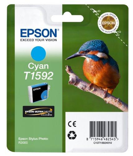 Epson T1592 Tintenpatrone Eisvogel, Singlepack cyan