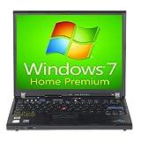 IBM Lenovo Laptop ThinkPad T60 Notebook Computer 1.83GHz - 1GB - 60GB - DVD - Windows 7 Home Premium