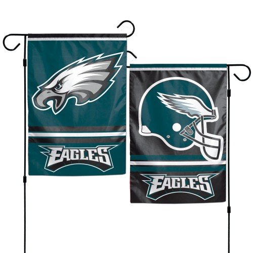 WinCraft Philadelphia Eagles Polyester 12.5 x 18 Inches 2-Sided Garden Yard Wall Flag