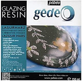 Pebeo Gedeo Glazing Resin 1 pcs sku# 1832274MA