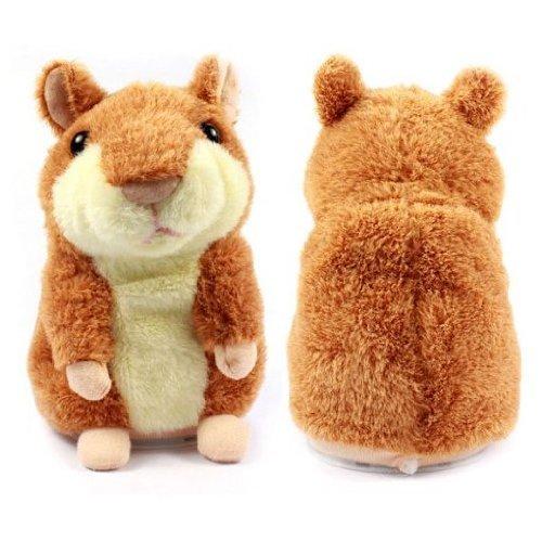 Fhouse The Cute Mimicry - Hámster para mascotas, juguete de peluche con hámster electrónico