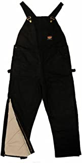 Rasco FR HEAVY Black INSULATED Winter Bib Overalls - Flame Resistant BLHB2427