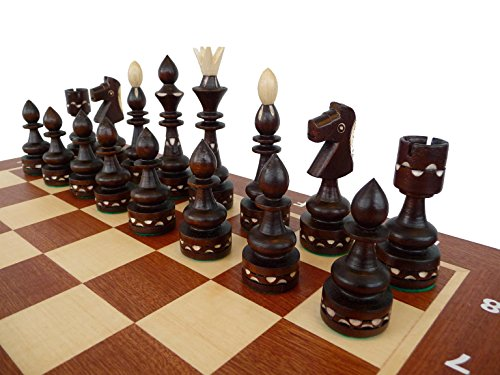 Master of Chess New Indian Pro 54cm / 21in Juego de ajedrez...