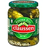 Claussen Kosher Dill Mini Pickles (20 oz Jar)