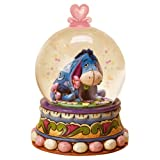 Disney Traditions 4015351 Eeyore Waterball Gloom to Bloom Figurine, Brown