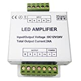 LEDENET RGBW Amplifier 24A Data Signal Repeater 4CH Channels Circuit Aluminum Shell For RGBWW LED Lights Strip 12V 24V
