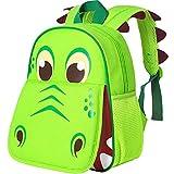 Toddler Backpack, 12' Dinosaur Prechool Bag for Boys Girls