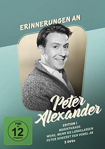 Erinnerungen an Peter Alexander - Edition 1 [3 DVDs]