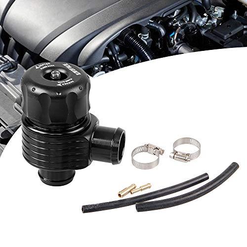 RYANSTAR Adjustable Turbo Dump Blow Off wastegate Valve BOV 25mm Aluminum Black Universal Fit