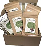 Juego de infusiones detox 5 bolsitas con cierre hermético y protector de aroma de 50 gr. Ideales para depurar y desintoxicar el organismo, no sustituyen a las comidas. Tisantea