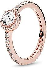 Classic Elegance Ring, PANDORA Rose & Clear CZ 180946CZ