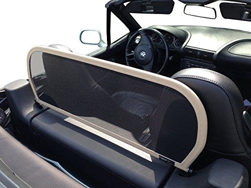 Aperta Windschott passend für BMW Z3 E36 100% Passgenau OEM Qualität Beige Windstop Windabweiser