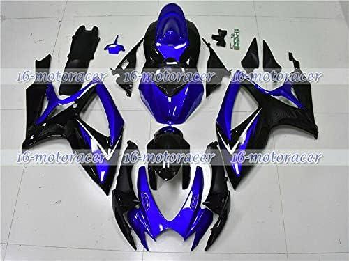 Black Blue Fairing Kit Bodywork Max 41% free shipping OFF Fit 750 600 GSXR 2006-2007 k for