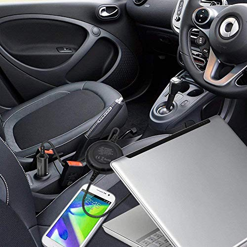 Outtag Mini 100W Ladegerät DC Adapter Netzteil 15V 16V 18,5V 19V 19,5V 20V für Asus Acer Lenovo HP Compaq Dell Samsung Sony Toshiba IBM Medion LG etc. mit 5 V USB-Anschluss für Tablet Smartphone