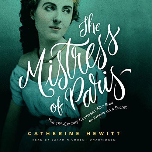 The Mistress of Paris audiobook cover art