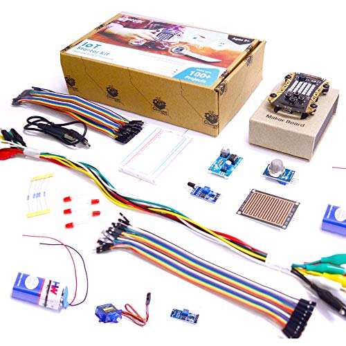 Avishkaar IoT Starter Kit, Multicolor, 10+ Years, 40+ Parts, 100+ Projects, Learn Coding, Electronics, IoT, Sensor Interfacing & App Development
