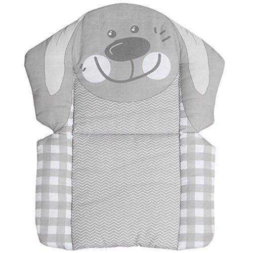 Sitzverkleinerer Hase weiche Polsterung wasserabweisend abwaschbar • Baby Hochstuhl Stuhl Sitz Kissen Auflage Kind