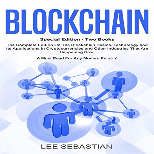 Blockchain: Two Books audiobook cover art