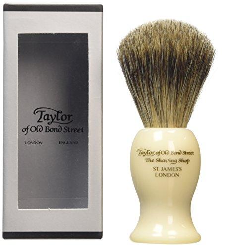 Taylor of Old Bond Street reines Dachshaar groß imit Rasierpinsel, Elfenbeinfarben
