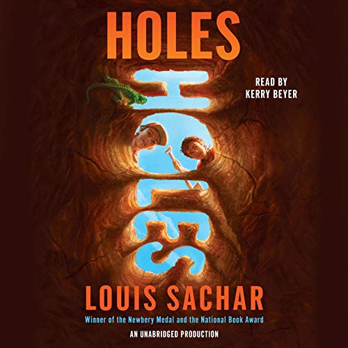 Holes audiobook cover art