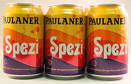 Paulaner Spezi .33L (European Import) - SIX Cans (6 x .33l cans)