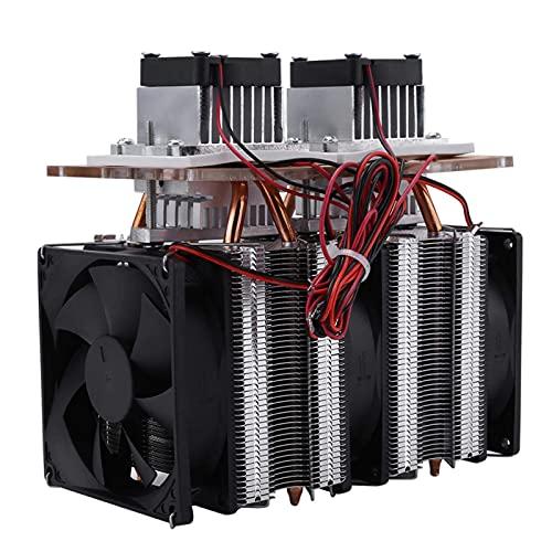 Semiconductor, sistema de enfriamiento de semiconductor de doble núcleo de 144 W Sistema de deshumidificación de enfriamiento por aire Peltier
