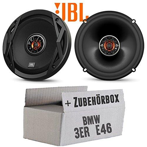 Lautsprecher Boxen JBL Club 6522 | 2-Wege | 16cm Koax Auto Einbauzubehör - Einbauset für BMW 3er E46 - JUST SOUND best choice for caraudio