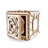 LLDKA Modelo de casa Segura (la mecánica del Rompecabezas en 3D a Monte en sí) Funcional, Diseño/Caja Fuerte con Cerradura de combinación