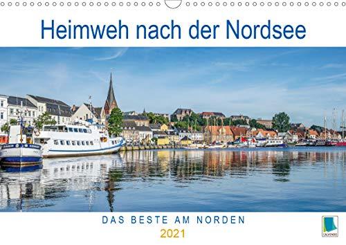 Heimweh nach der Nordsee (Wandkalender 2021 DIN A3 quer)