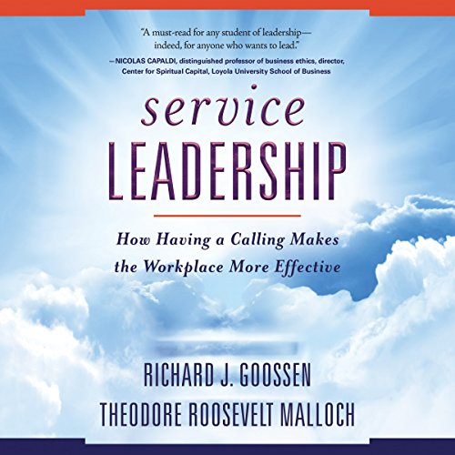 Service Leadership audiobook cover art