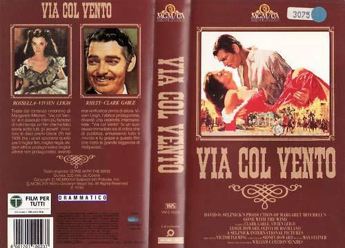 Via col vento (1939) VHS