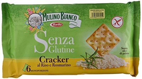 Mulino Bianco senza Glutine Cracker al Riso e Rosmarino, 200g