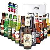 世界のビール[12ヵ国12本]飲み比べ ギフトセット【正規輸入品】【Amazon購入限定 アルミ製オリジナル栓抜きプレゼント】お祝 お返し 誕生日プレゼントに 専用ギフトボックスでお届け