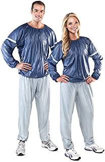 Gold's Gym Adult Performance Sauna Suit, L/XL