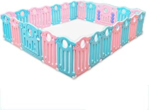 Bed Rail LLAAYY Plastic Baby Playpen With Movable Panel  Healthy And Harmless  259 223 61cm