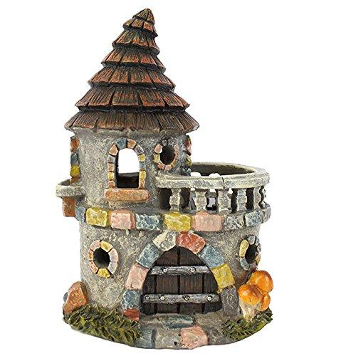 Jones Home and Gift Fairy Homes Feenhaus für Feengärten – Feenschloss mit Balkon