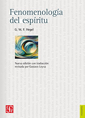 Fenomenología del espíritu eBook: Hegel, Georg Wilhelm Friedrich ...
